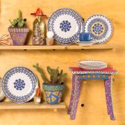 Aparelho de Jantar La Carreta de Cerâmica 20 Peças - Oxford