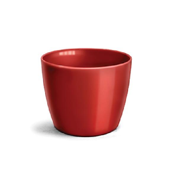 Cachepot Plastico Redondo 1030x1230 cm Vermelho escuro - Nutriplan