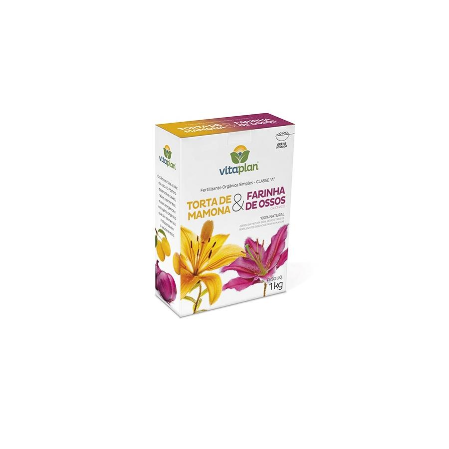 Fertilizante Organico para Todos As Variedades De Plantas 01 kg com Dosador - Nutriplan