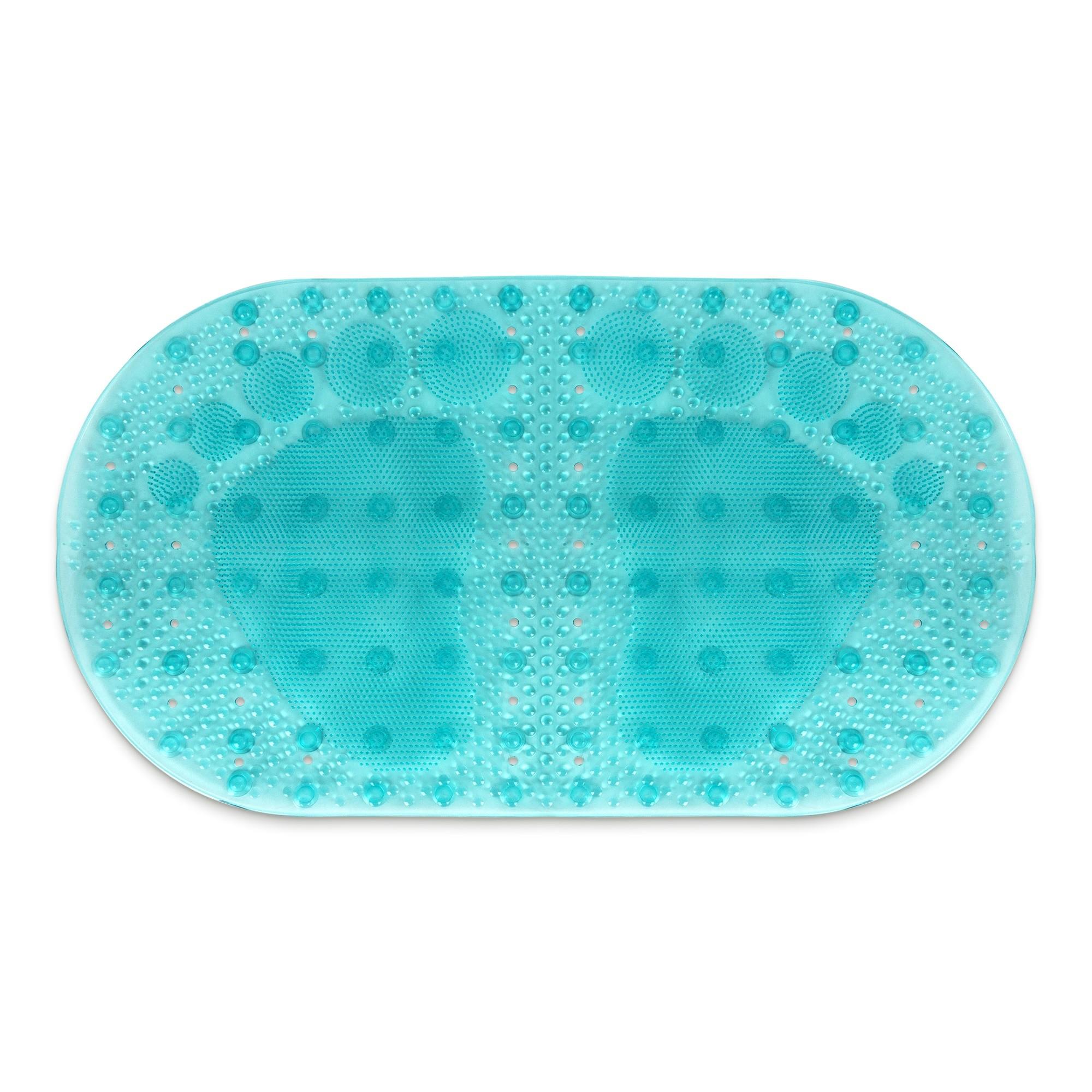 Tapete de Banheiro de PVC 69x39cm Verde - Bianchini