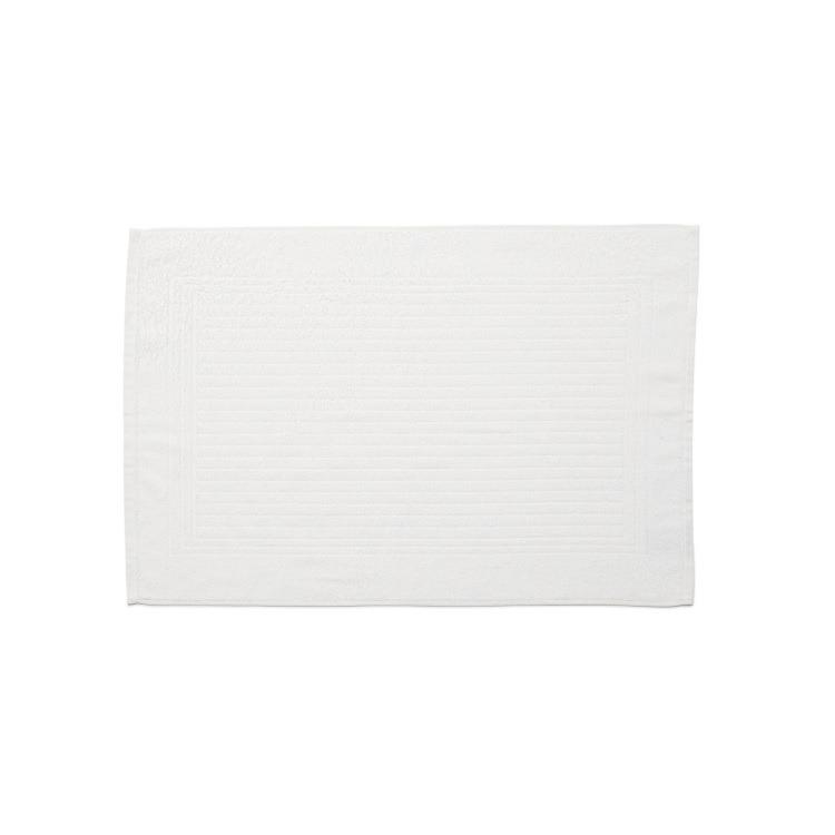 Toalha de Piso Santista 100 Algodao Cedro 45x70 cm Felpuda - Branco