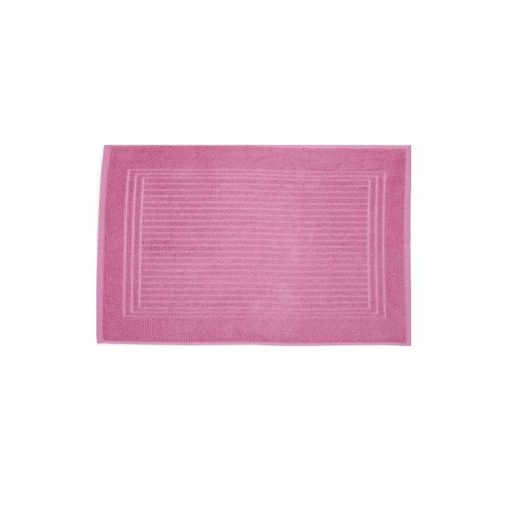 Toalha de Piso Santista Cedro 45x70 cm 100 algodao Felpuda - Rosa