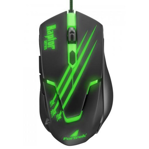 Mouse Gamer Fortrek Usb Optico Raptor Series OM801