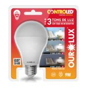 Lâmpada LED Bulbo A60 6W Luz Branca E27 Bivolt - Ourolux