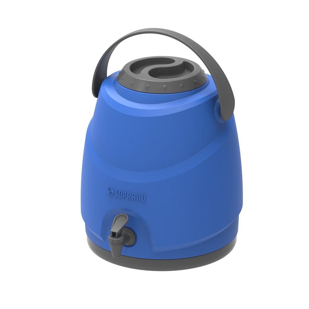 Botijao Termico 9L Azul Com Torneira - Soprano