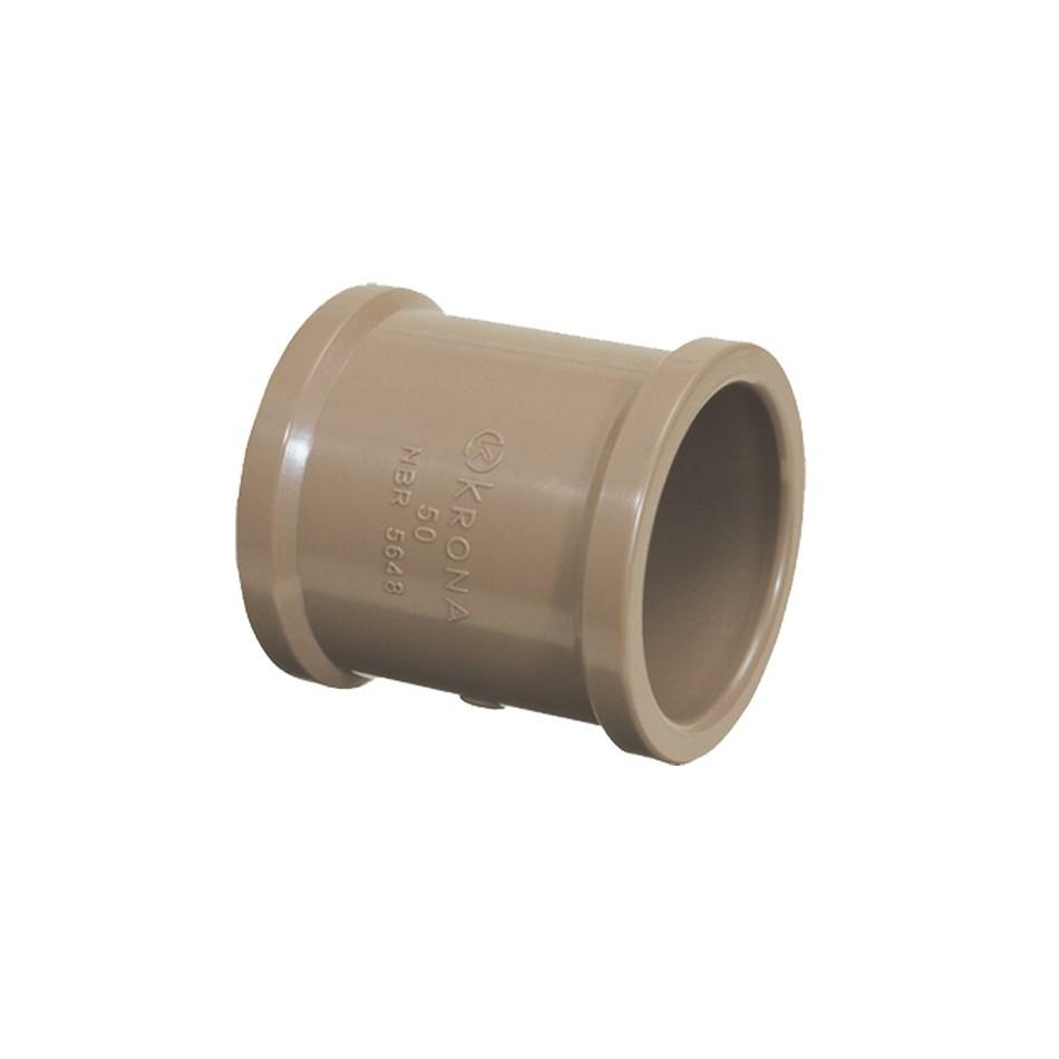 Luva Soldavel PVC Marrom 50 mm - Fortlev