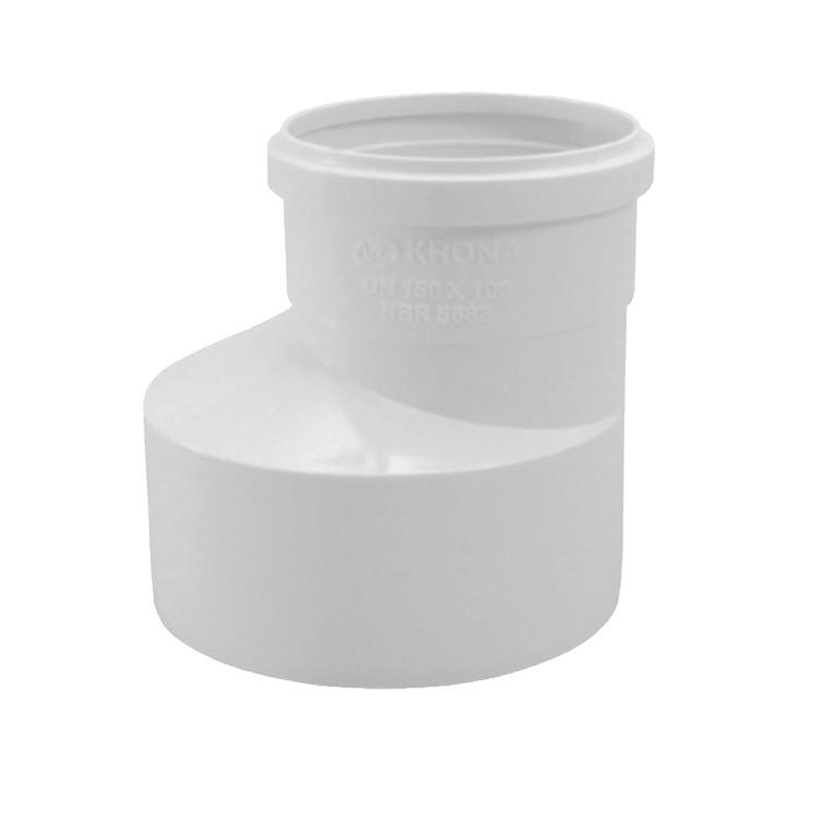 Reducao PVC Branco 75 mm x 50 mm - Krona