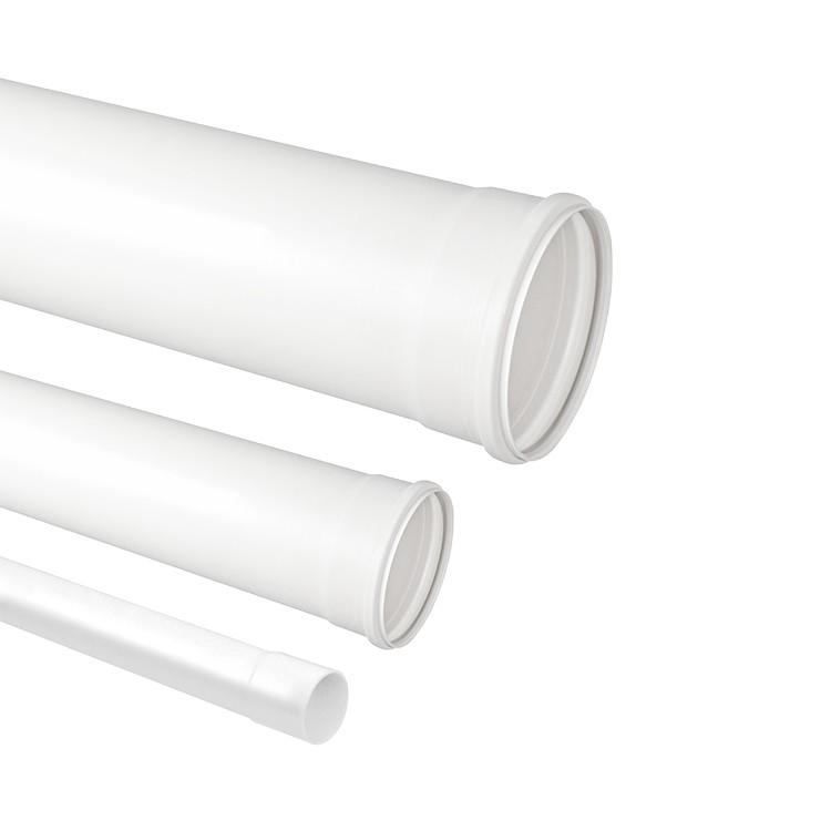 Tubo Para Esgoto PVC Branco 100mm x 6m - Krona