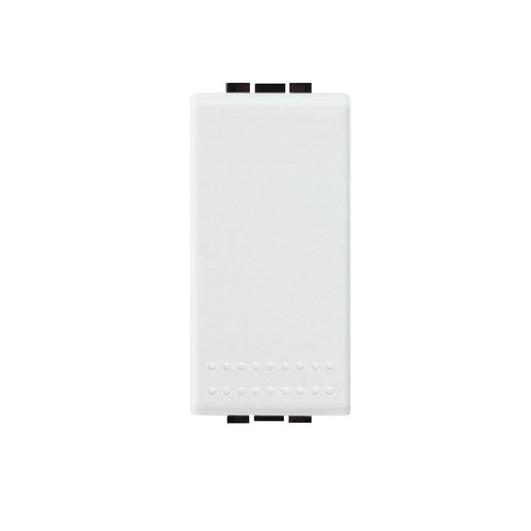 Modulo Pulsador 1 Modulo 10A Branco - Livinglight - Bticino