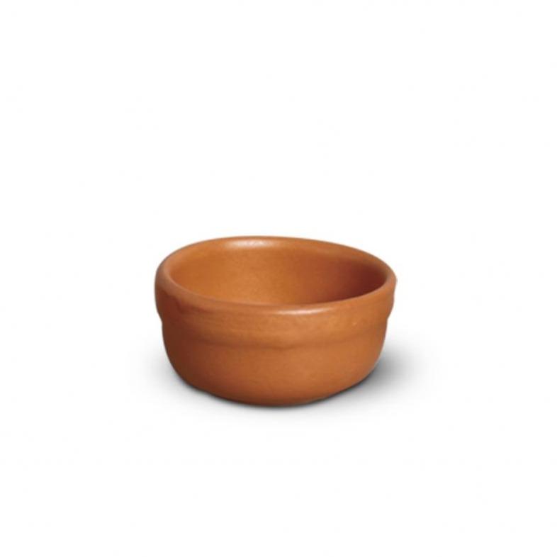 Ramequin de Ceramica Redondo 6 cm Marrom - Nova Imagem