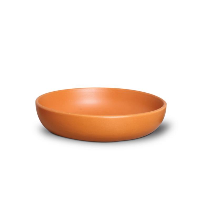 Tigela Funda de Ceramica Redonda 500ml Tijolo - Nova Imagem