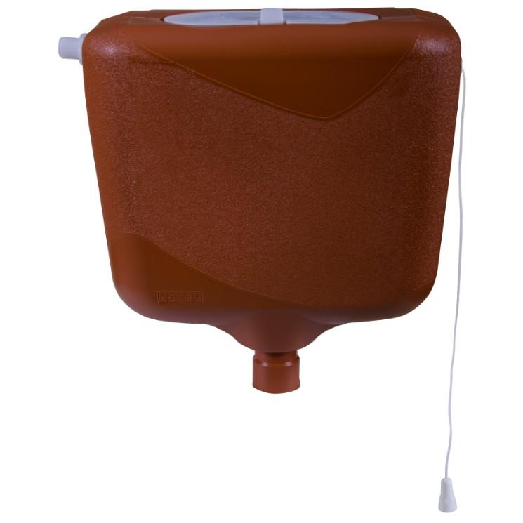 Caixa de Descarga Controlada 9 L sem Engate Caramelo - Astra