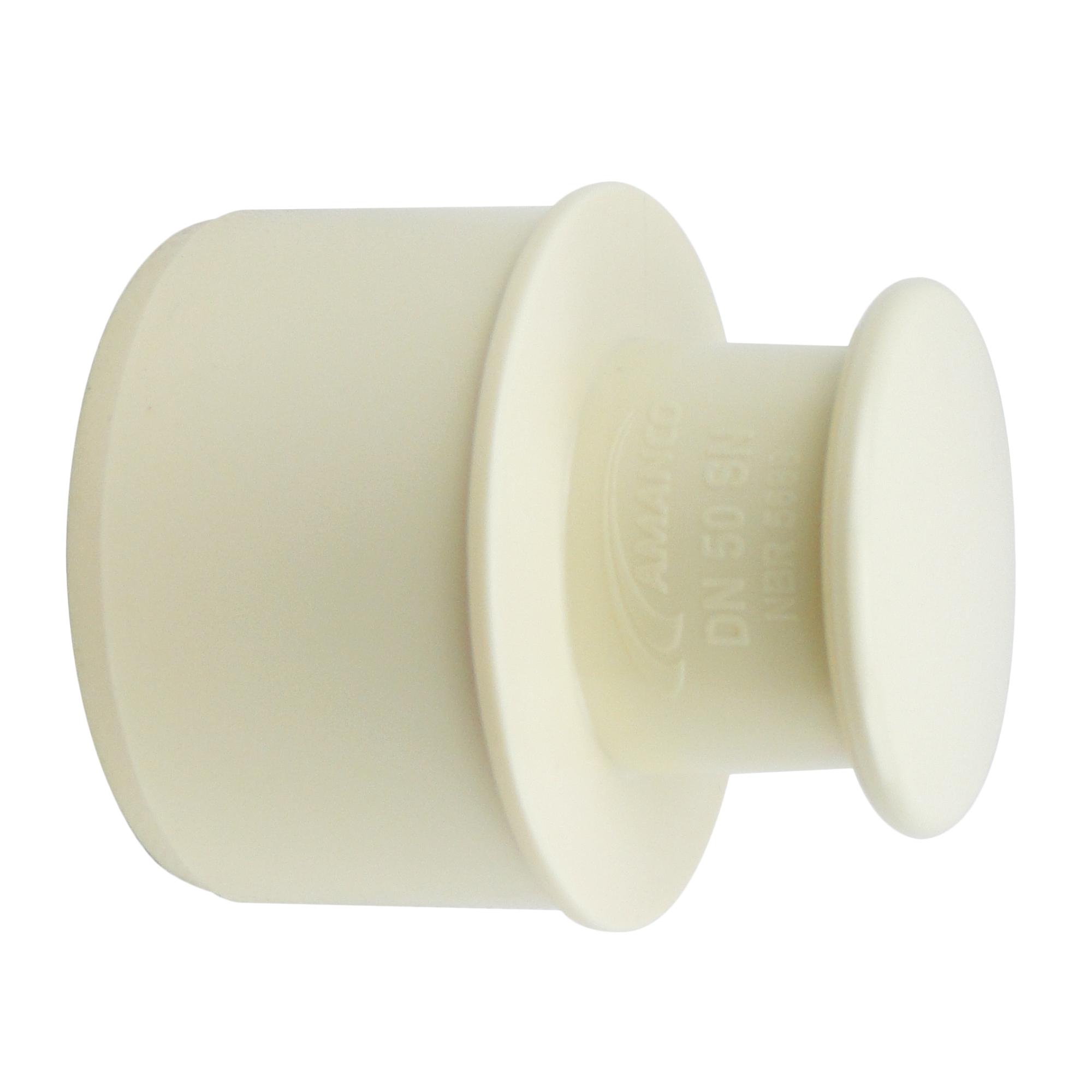 Plug para Esgoto PVC Branco 50 mm - Amanco