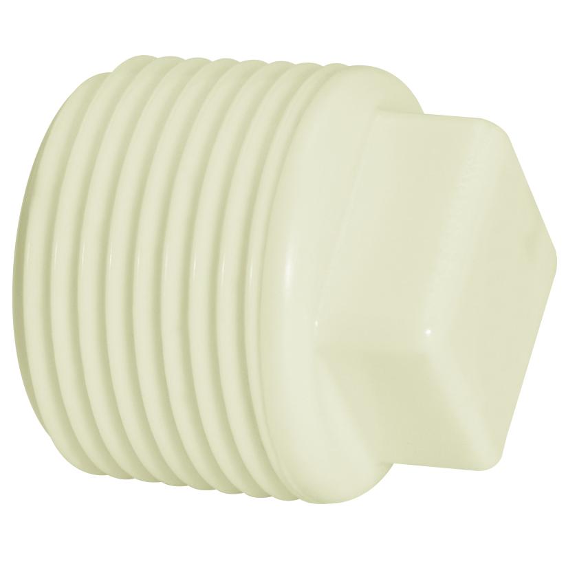 Plug Roscavel PVC Branco 2 - Amanco