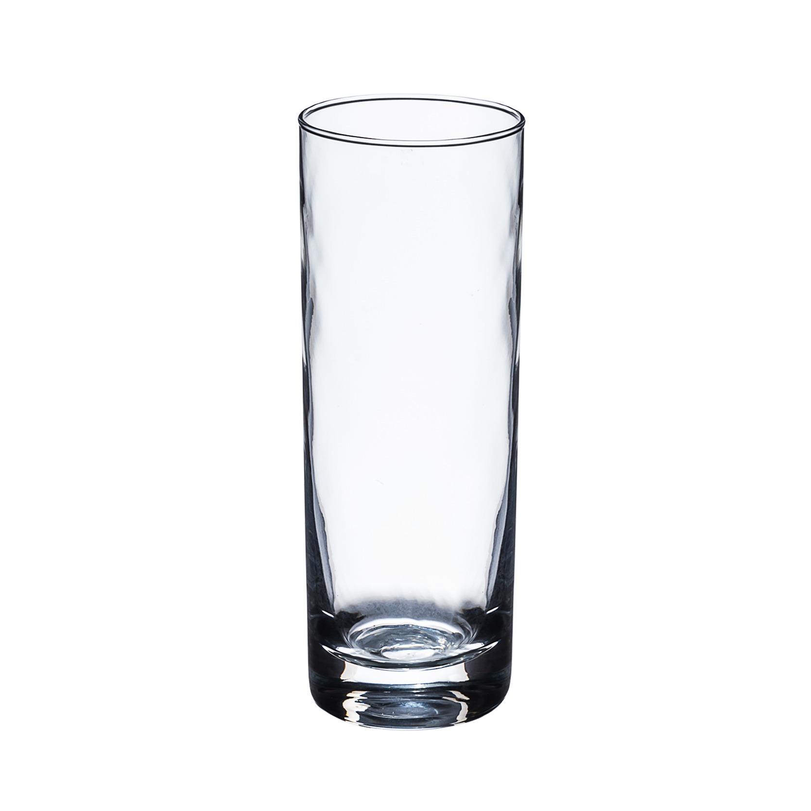 Copo Long Drink de Vidro 325ml Transparente - Bianchini