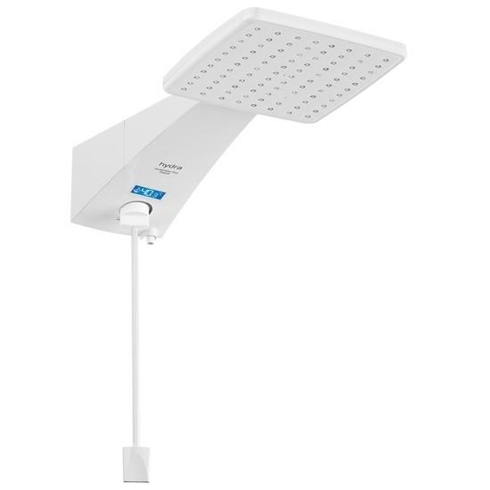 Chuveiro Digital 5500W 127V Branco - Quadratta Plus Hydra