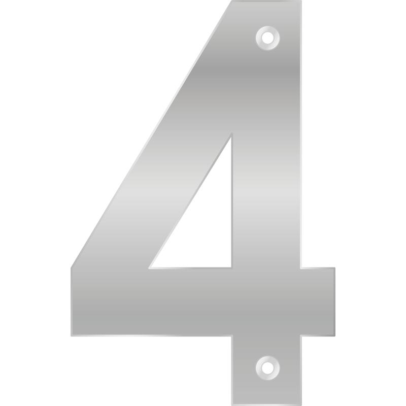 Numero 4 Pelicula de Aluminio - Bemfixa