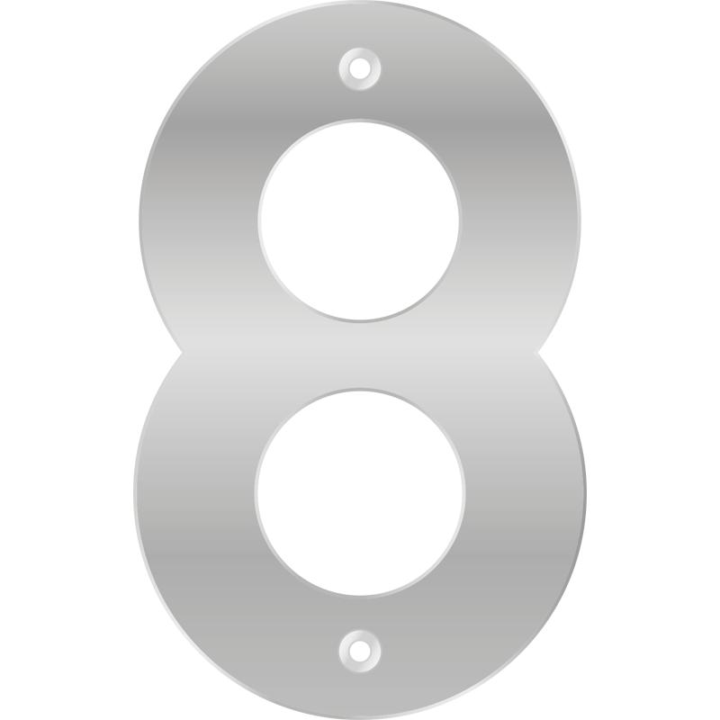 Numero 8 Pelicula de Aluminio - Bemfixa