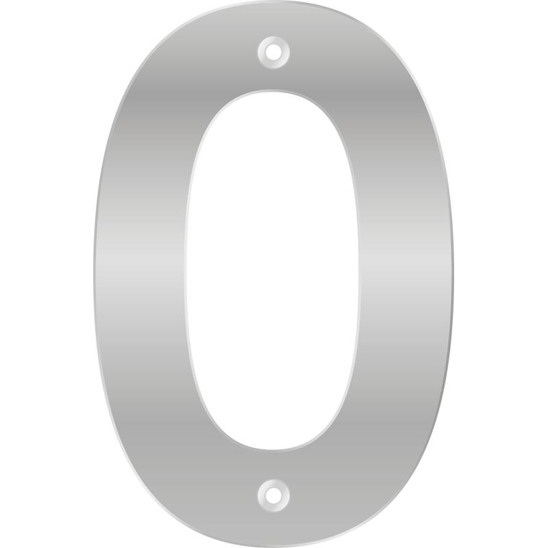 Numero 0 Pelicula de Aluminio - Bemfixa