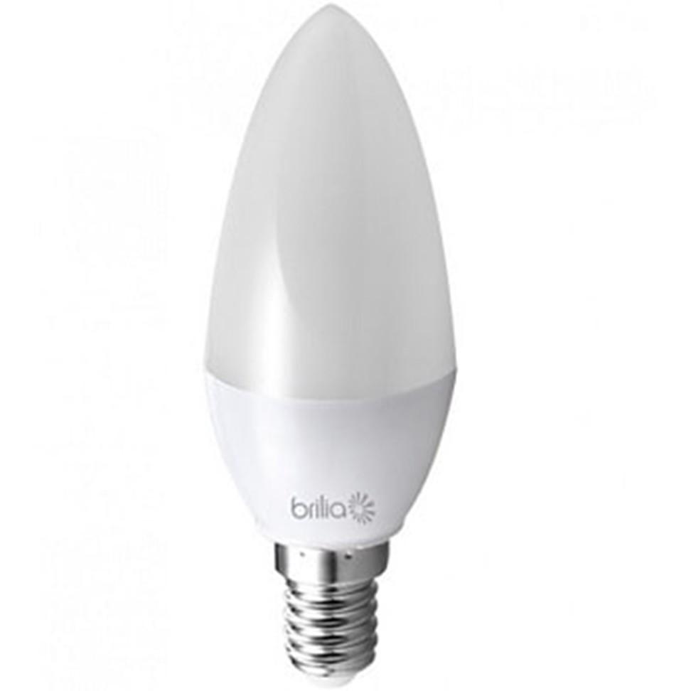 Lampada LED Vela 3W Branca E14 Bivolt - Brilia