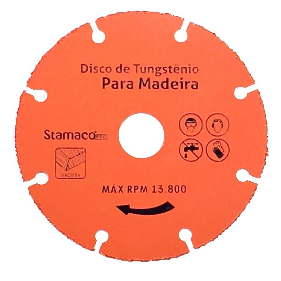 Disco Serra Diamantado para Madeira 110 x 12 x 2000mm - Stamaco