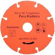 Disco Serra Diamantado para Madeira 110 x 1,2 x 20,00mm - Stamaco