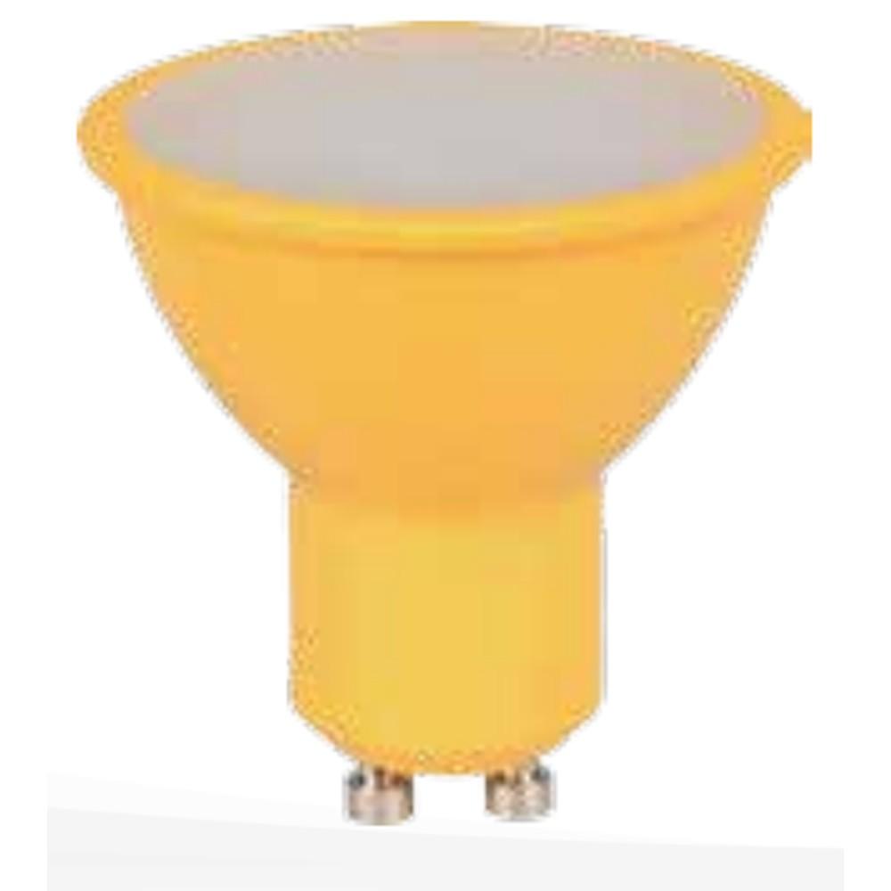 Lampada LED Dicroica 4W Luz Amarela E27 Bivolt - Ourolux