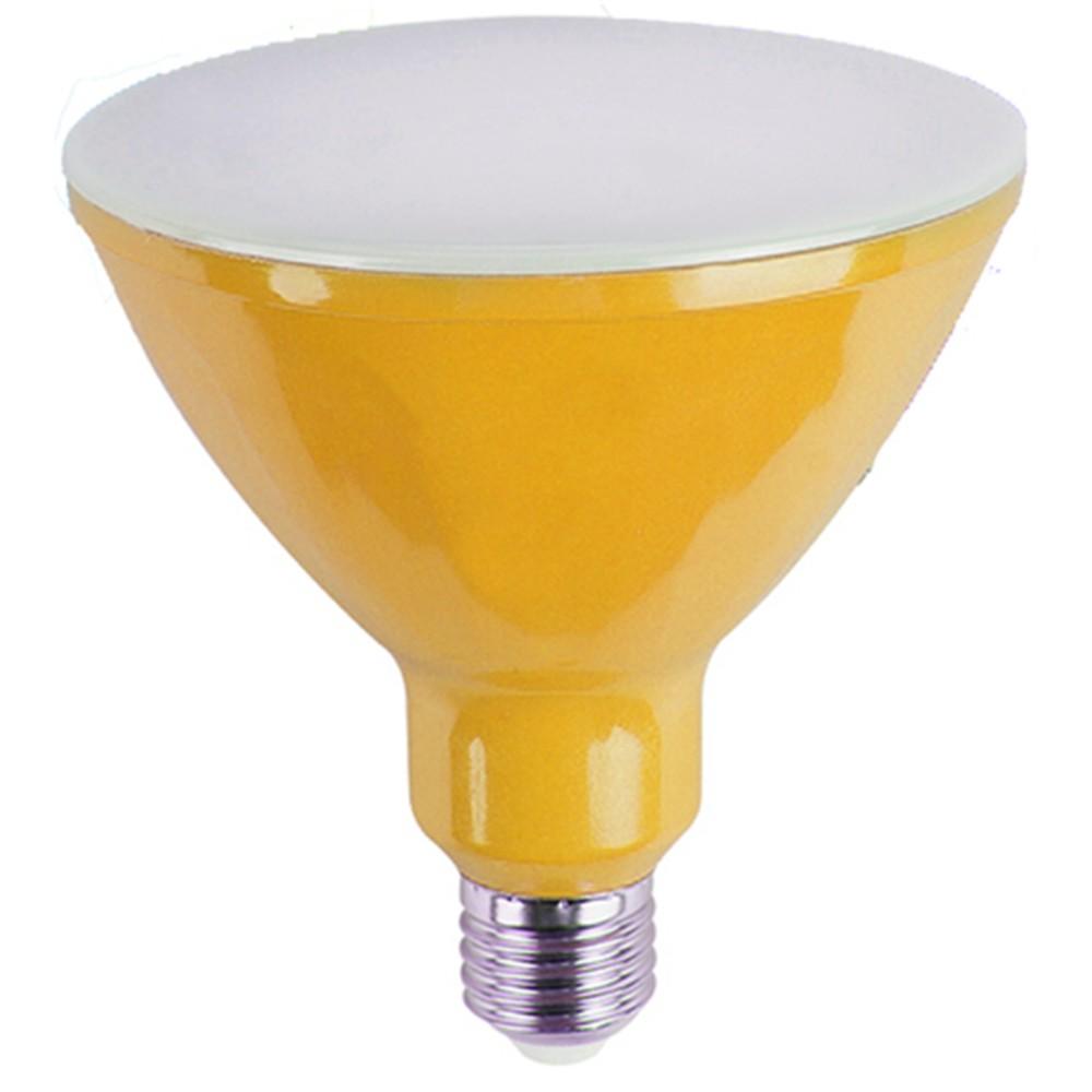 Lampada LED Par38 16W Luz Amarela E27 Bivolt - Ourolux