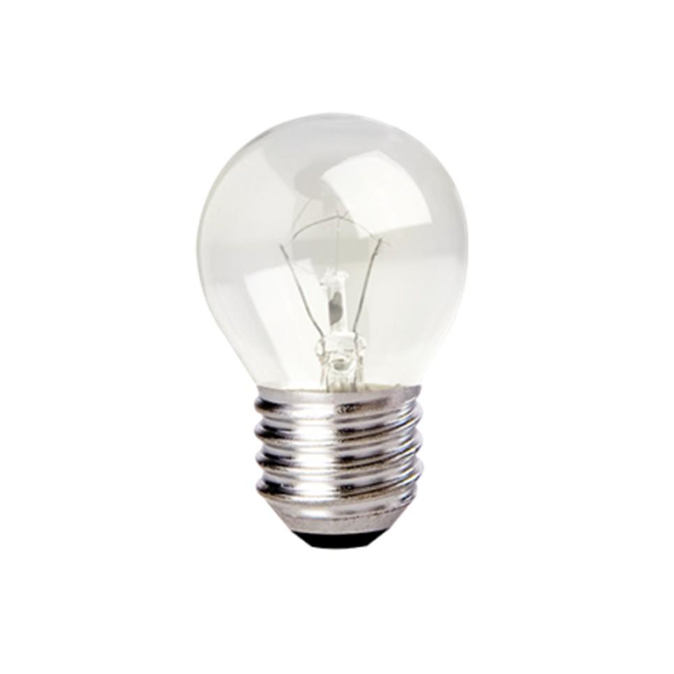 Lampada Globinho P45 40W E27 127 V - Ourolux