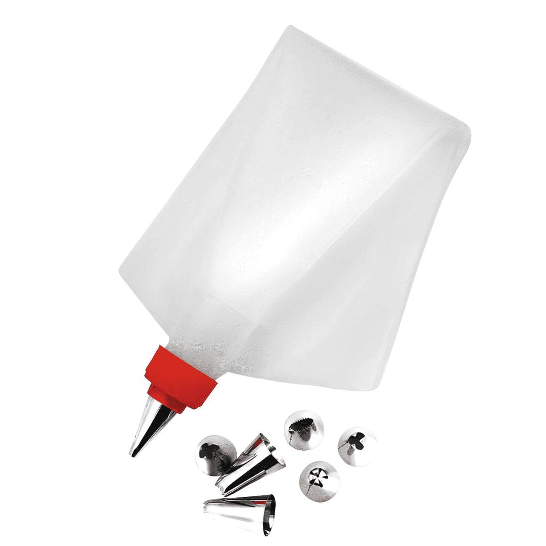 Kit para Confeitar Plastico 8 Bicos - Yangzi