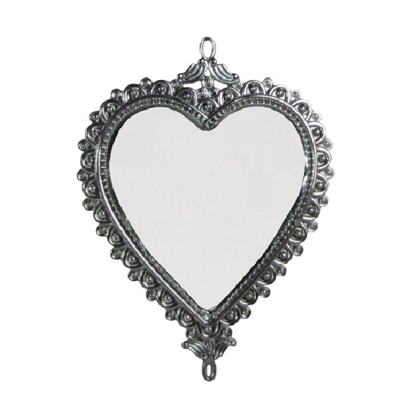 Enfeite de Arvore Natalina Espelho 15 cm Prata - 22000003