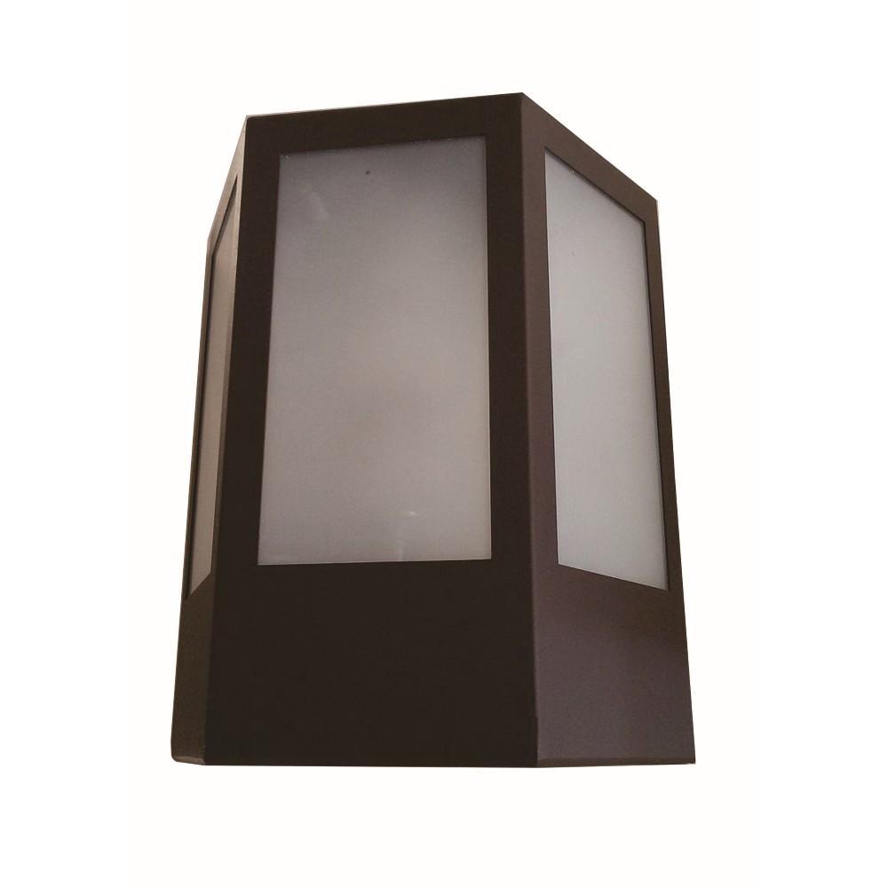 Arandela de Aluminio Pedro Marrom 1 Lampada 140 - Femarte