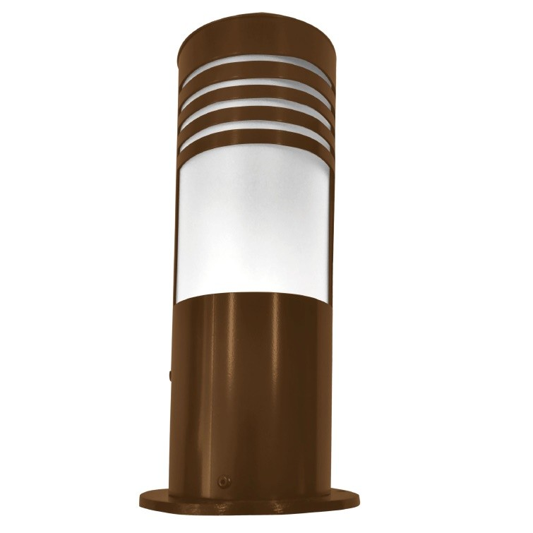 Balizador de Jardim Aluminio Marrom 100cm 194 - Femarte