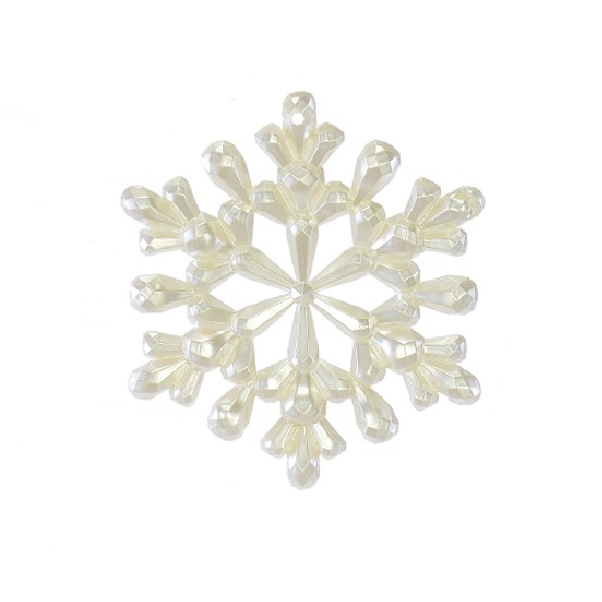 Enfeite de Arvore Natalina Floco de Neve 11 cm - 22006001