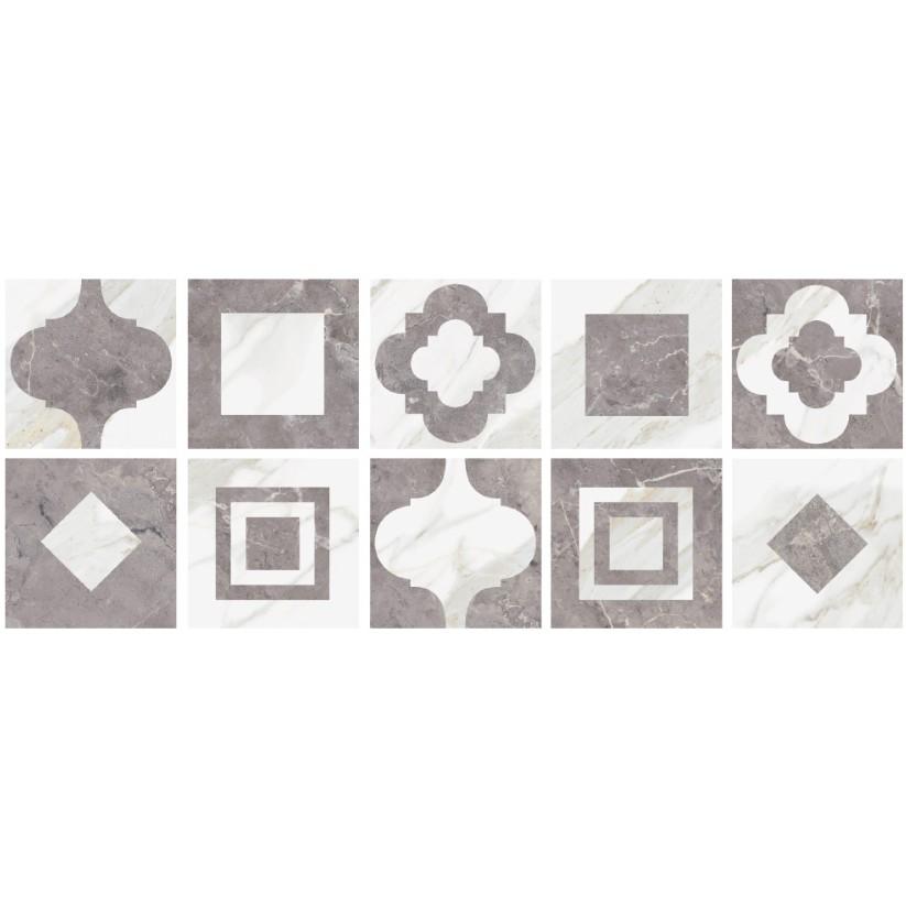 Porcelanato Palace Polido HD Tipo A Retificado 62x62cm Cinza - Livre