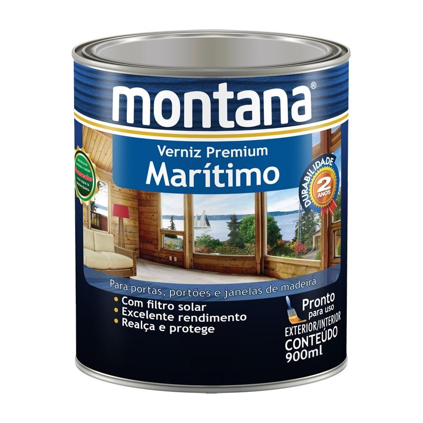 Verniz Maritimo Acetinado - Natural - 0900L - Montana