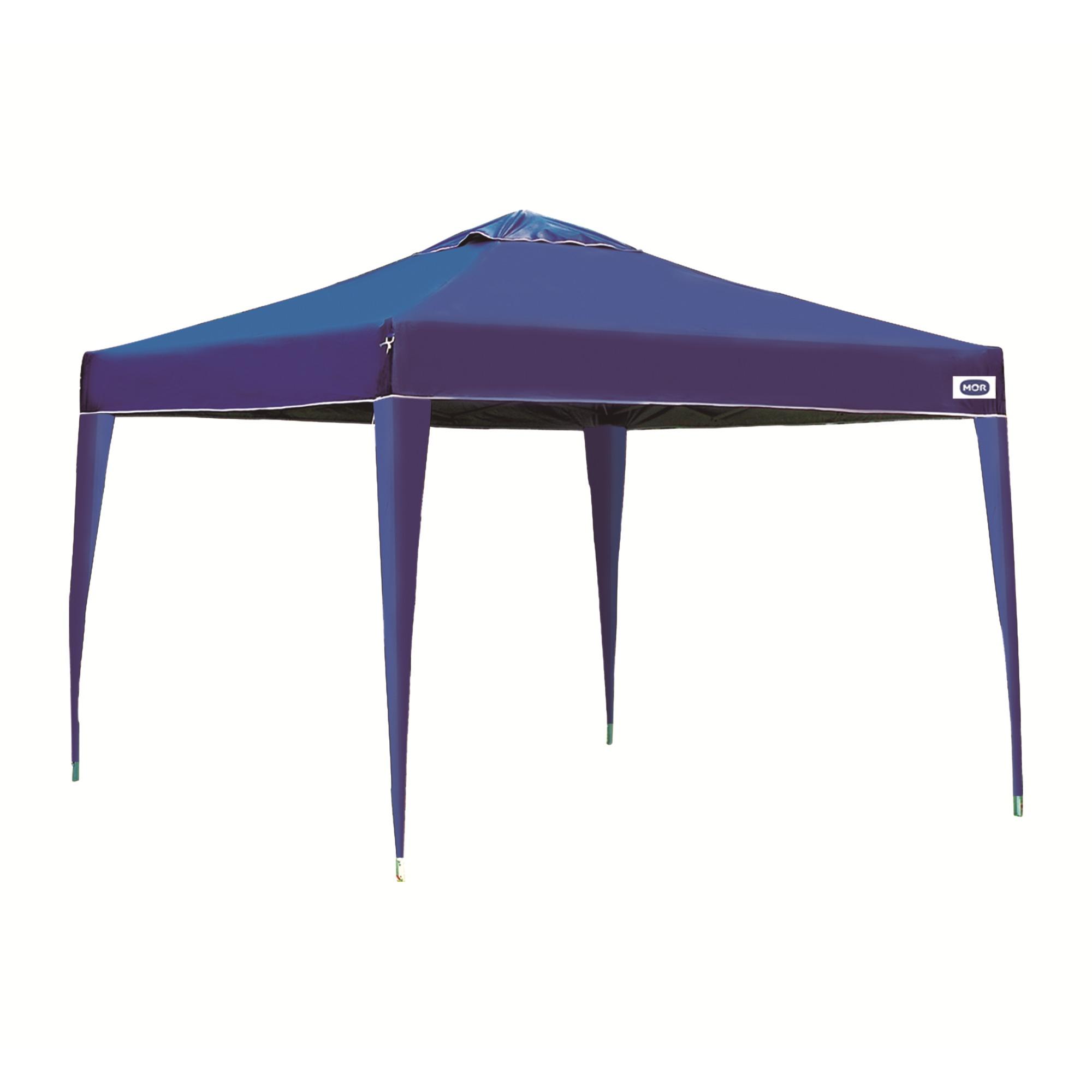 Tenda 30x30m Impermeavel Poliester Azul Escuro - Mor