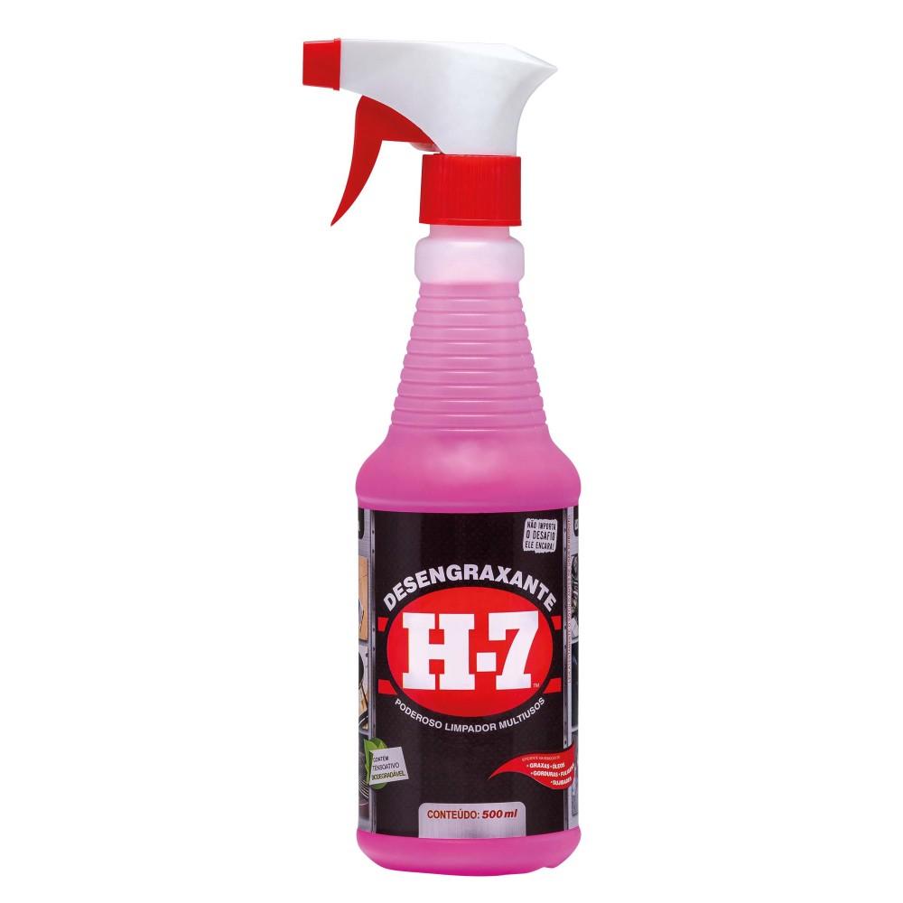 Detergente Desengraxante Multiuso H-7 500ml - Xadrez
