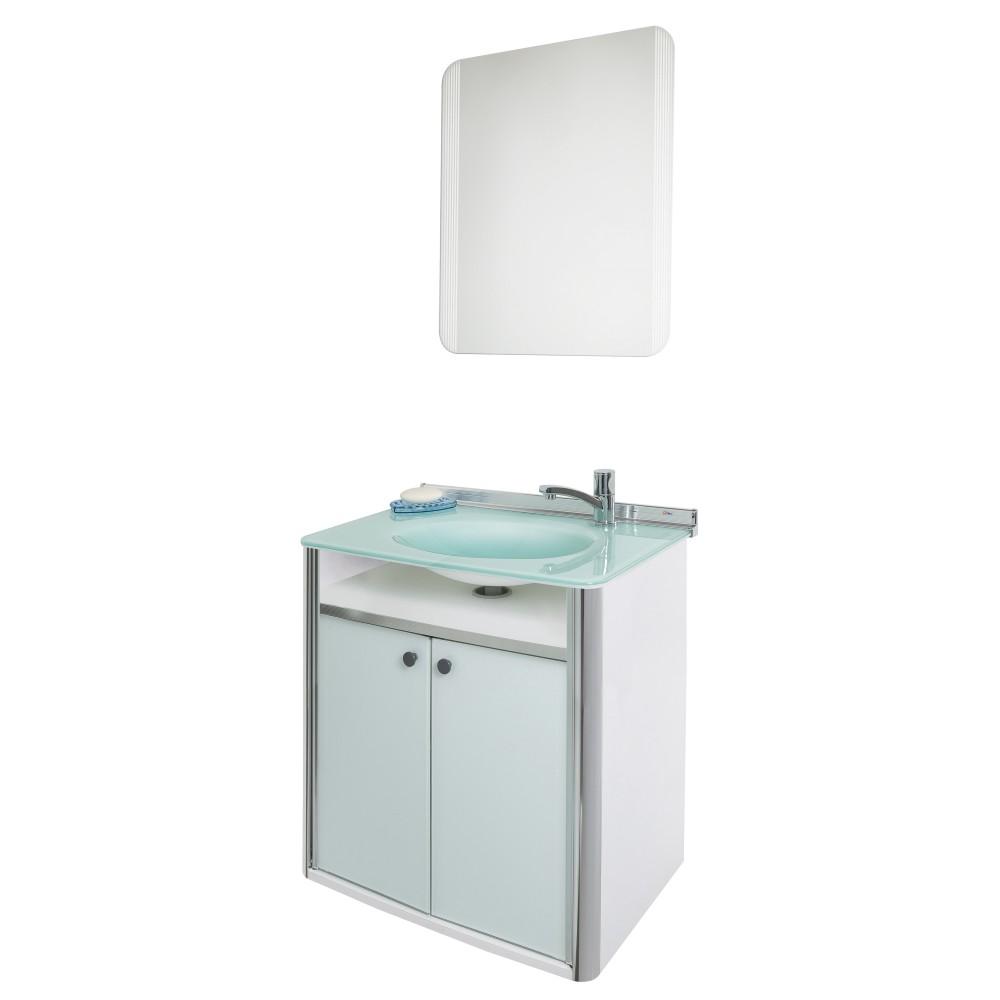 Gabinete para Banheiro Cris-Classic 625cm 931 - Crismetal