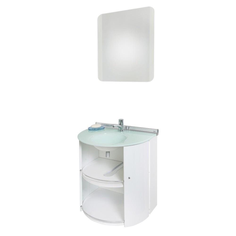 Gabinete para Banheiro Cris-Space 585cm 986 - Crismetal