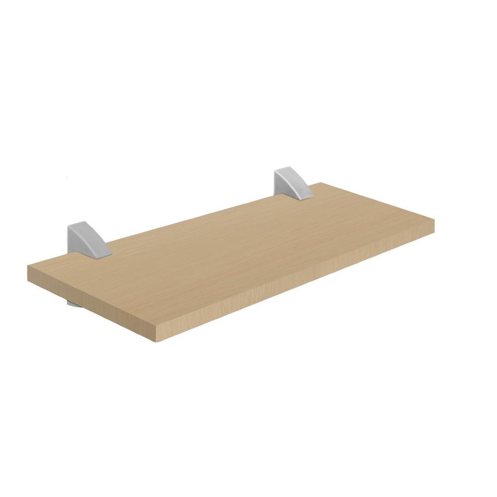 Prateleira com Suporte 40x20 cm MDP Concept Maple - Prat-k
