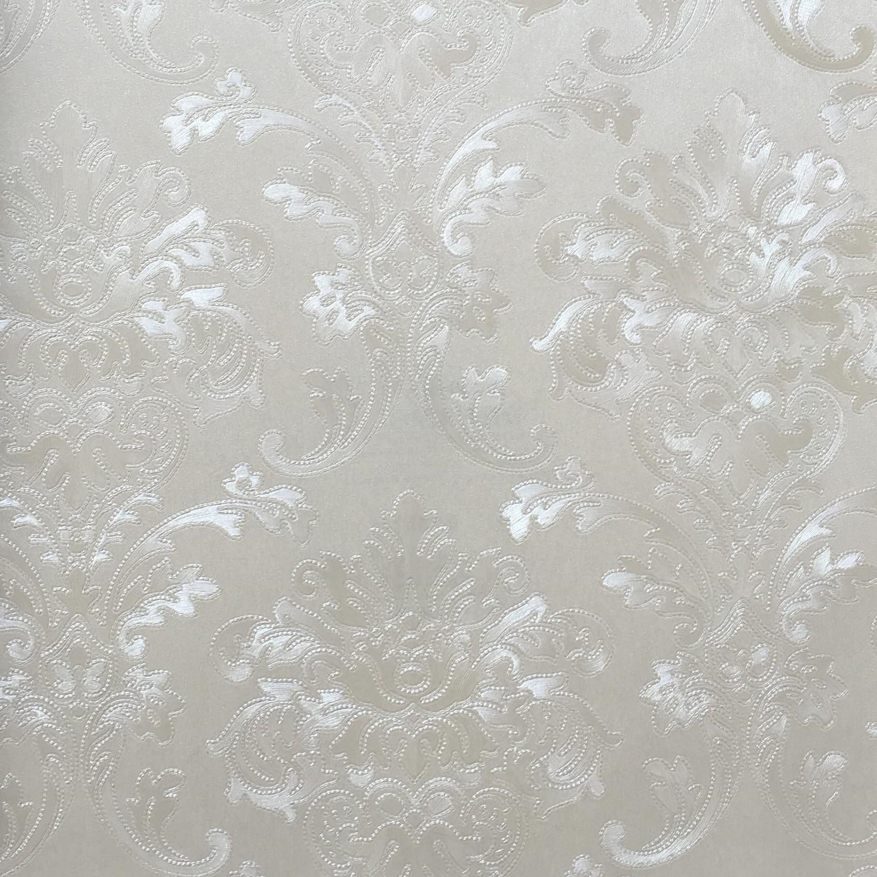 Papel de Parede Vinilico Texturizado Arabesco 55036 - Jolie