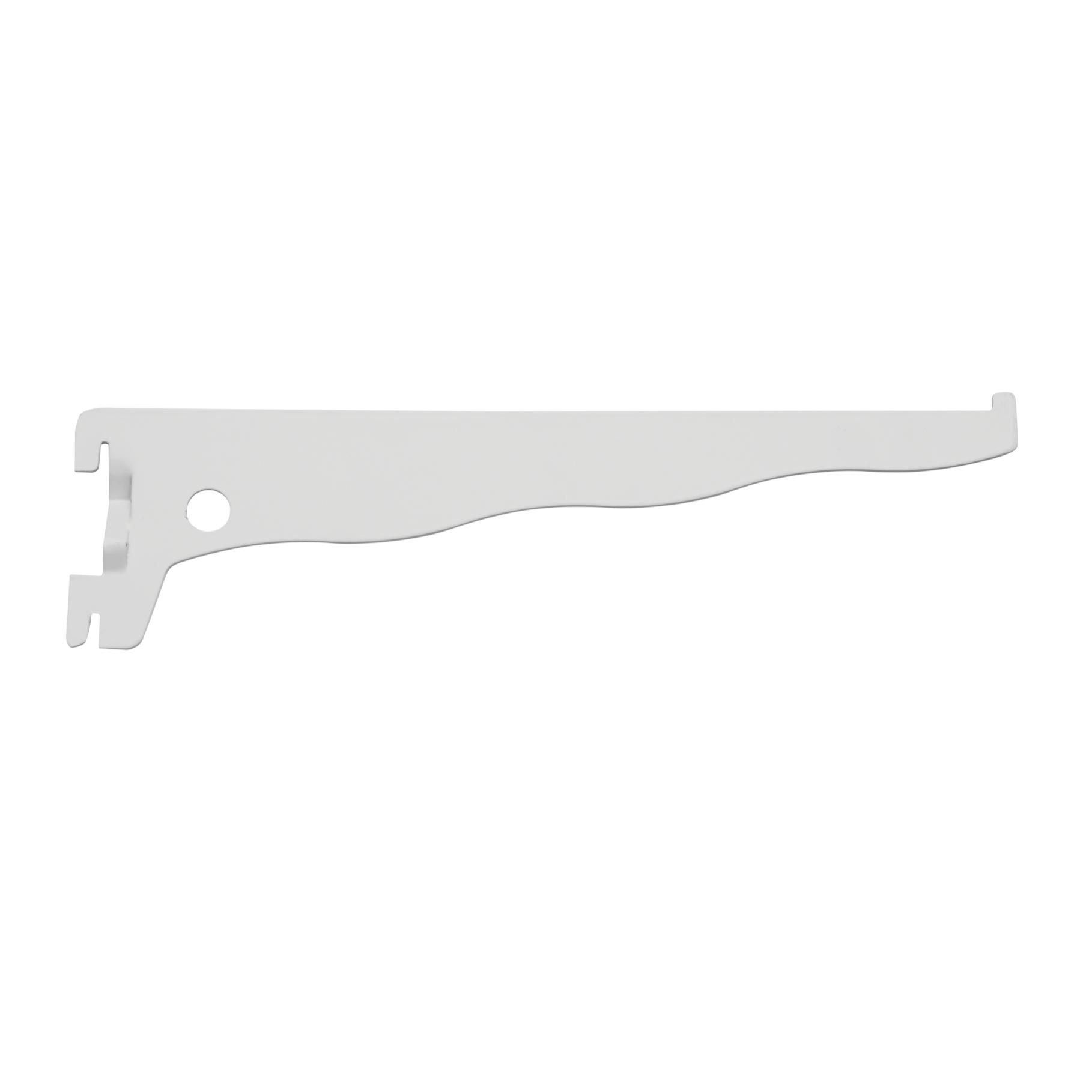 Suporte para Trilho de Aco 25 cm Branco 025 - Prat-k