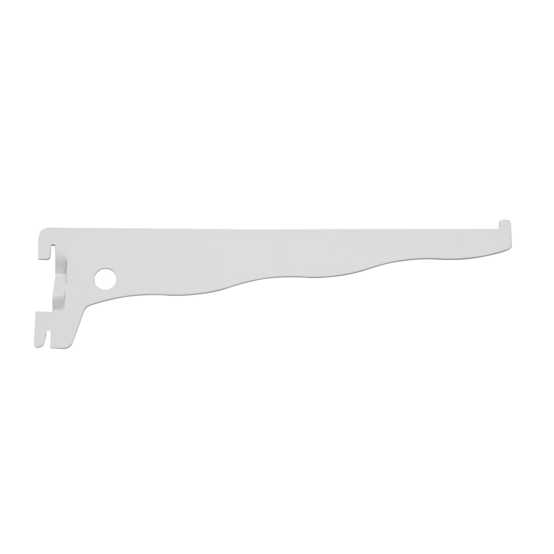 Suporte para Trilho de Aco 30 cm Branco 030 - Prat-k