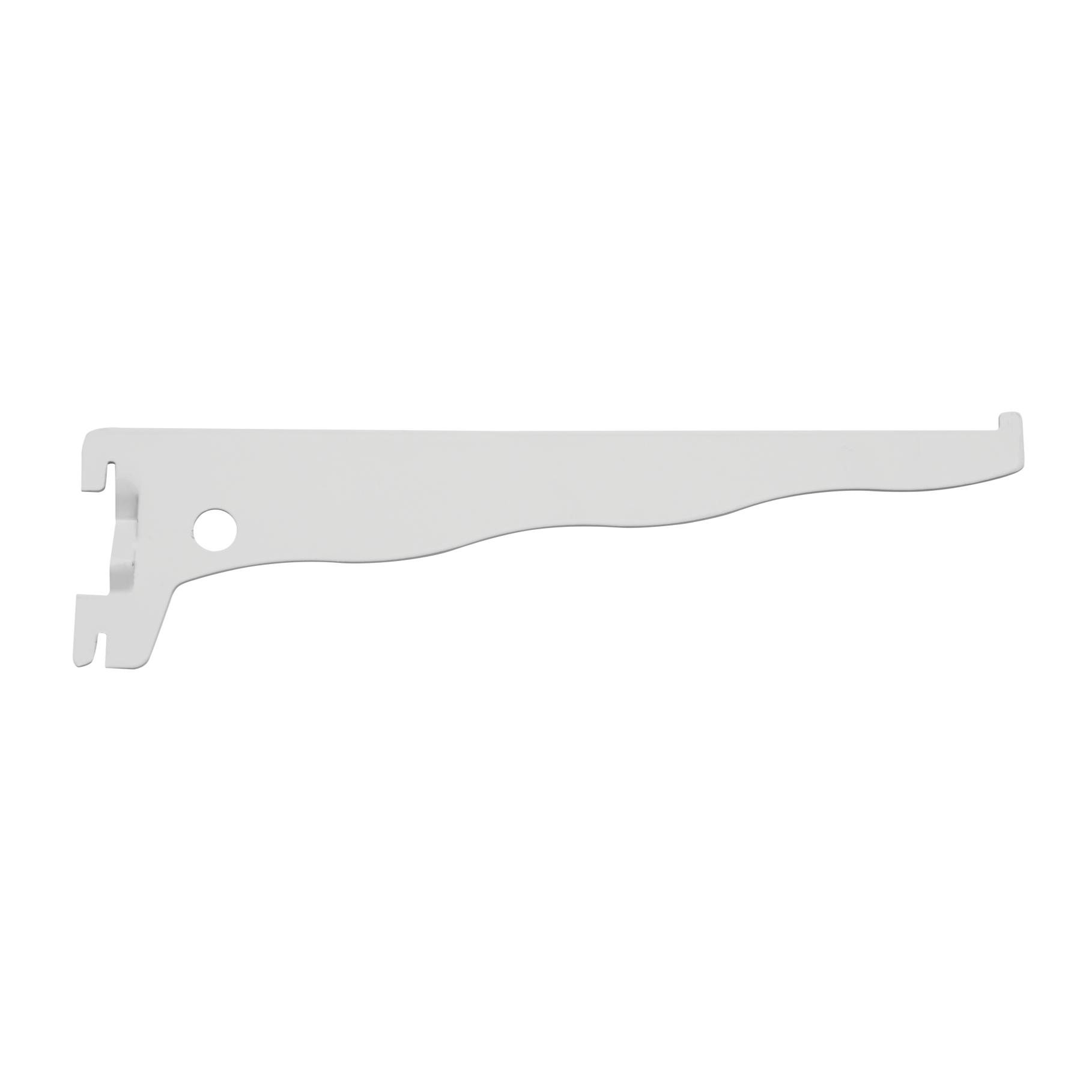 Suporte para Trilho de Aco 40 cm Branco 040 - Prat-k