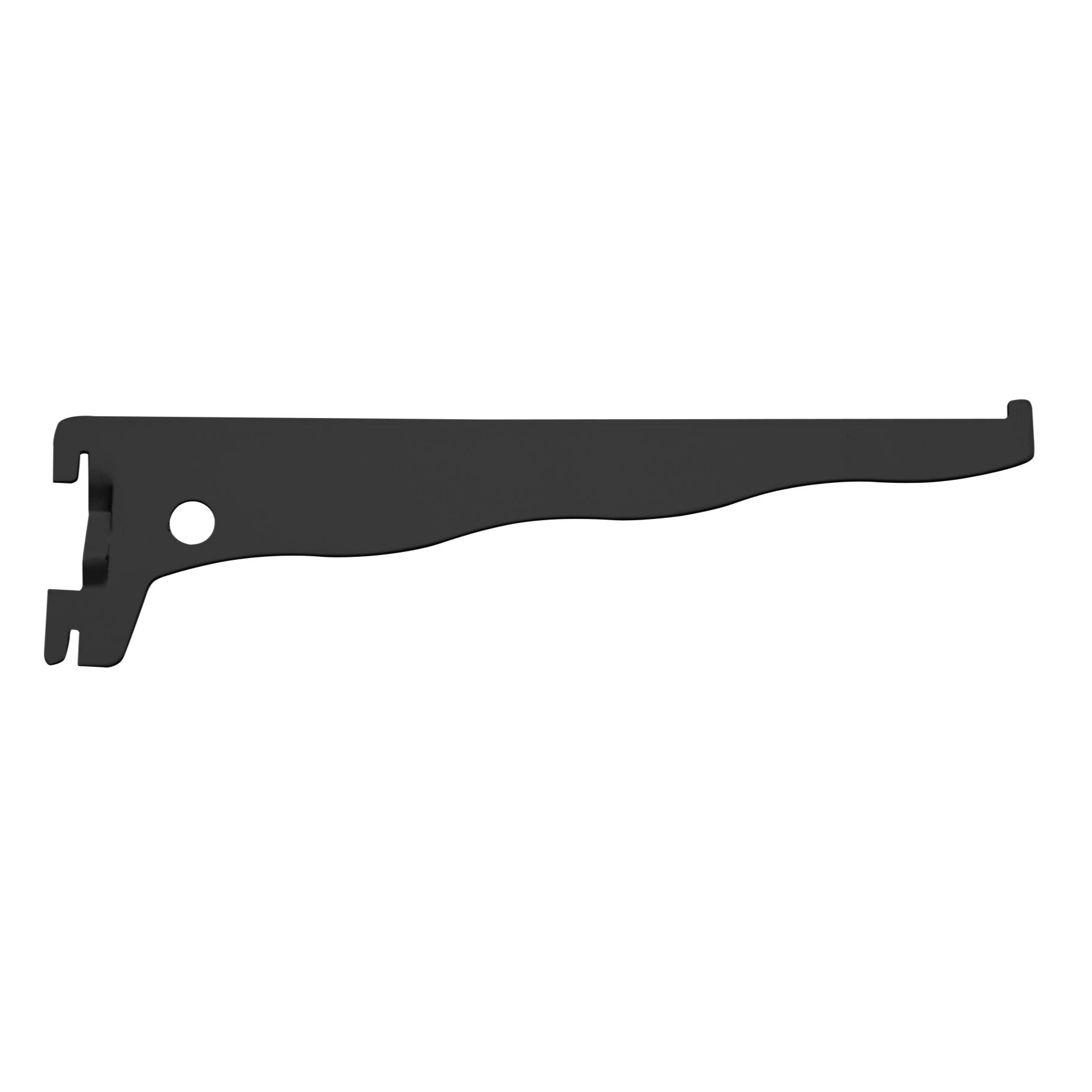Suporte para Trilho de Aco 30 cm Preto 030 - Prat-k