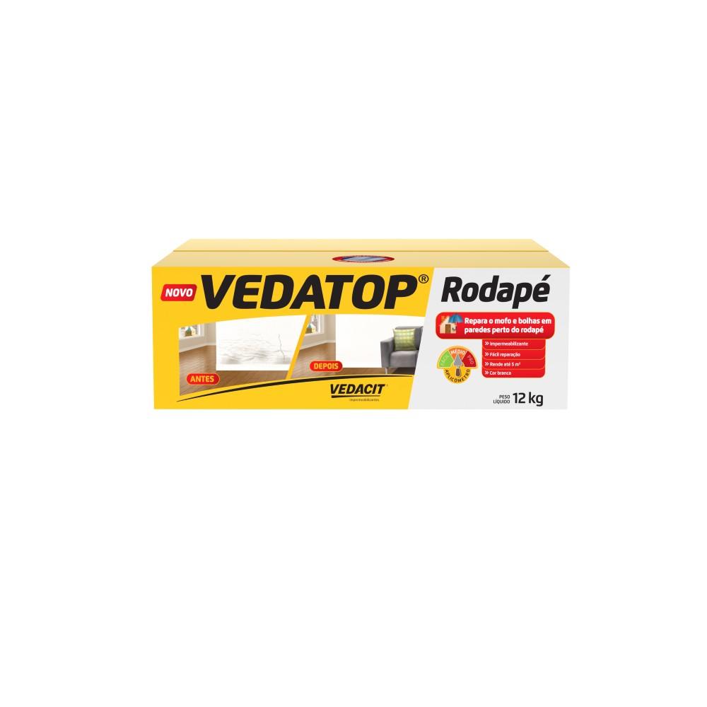 Argamassa VedaTop Rodape 12kg - Vedacit