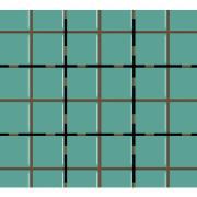 Revestimento Square Verde Esmeralda Brilhante Tipo A Borda Bold 10x10cm 1,62m² Verde Esmeralda - Eliane