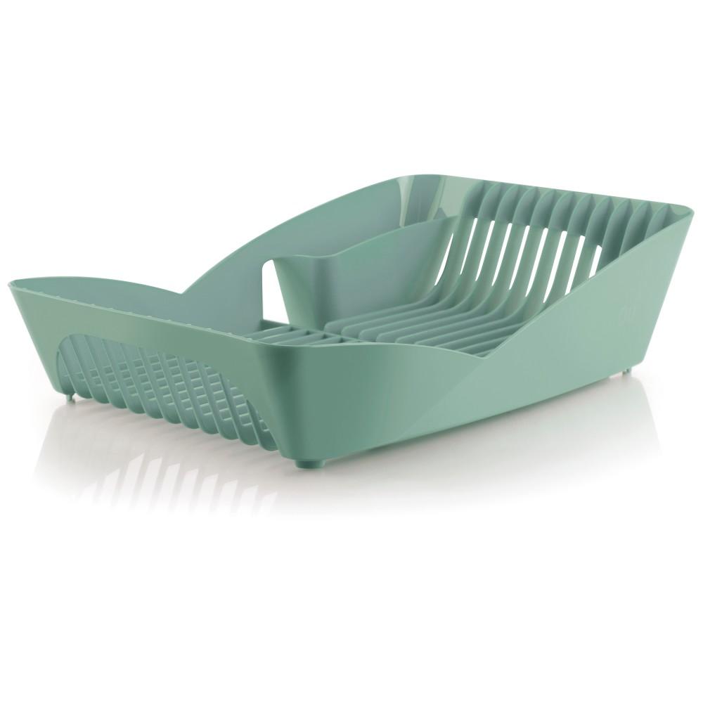 Escorredor de Pratos Plastico Natural Verde - Ou