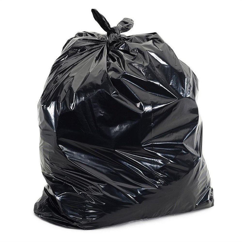 Saco para Lixo Reforcado de 300L Preto Pacote com 100 Unidades - Rava